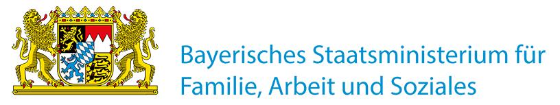 Logo des Bayrischen Staatsministeriums für Familie, Arbeit und Soziales